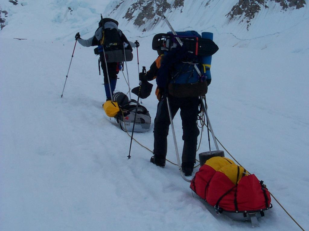 Tony Van Marke, Mt Denali, 2003