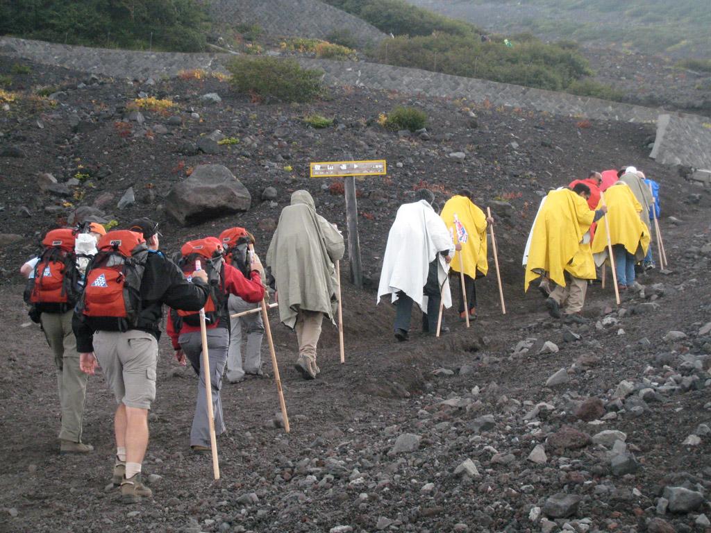 Tony van Marken Mount Fuji 2007