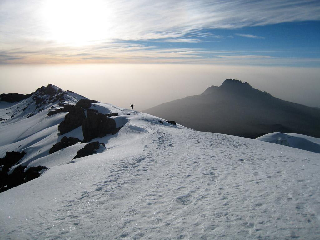 Tony van Marken Kilimanjaro Machame 2007