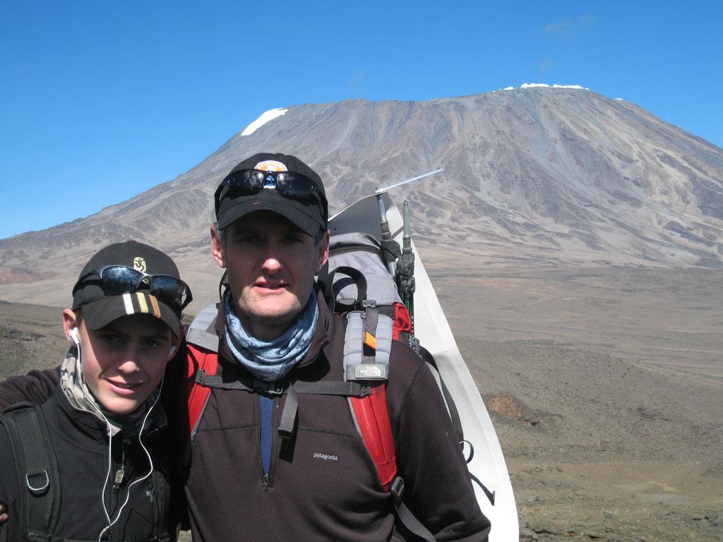 Tony van Marken Kilimanjaro Rongai 2008