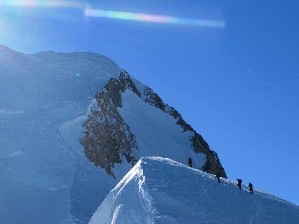 Tony van Marken Mont Blanc 2010