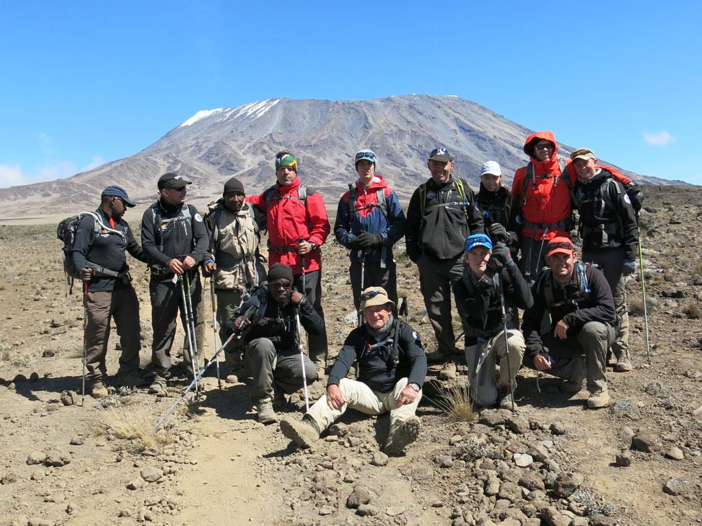 Tony van Marken Kilimanjaro Rongai 2013